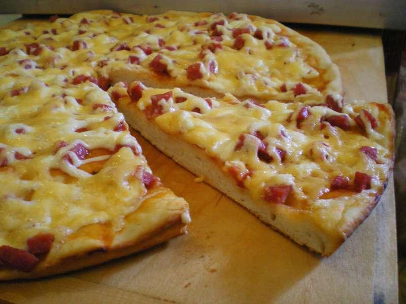 Тесто своими руками на пиццу
