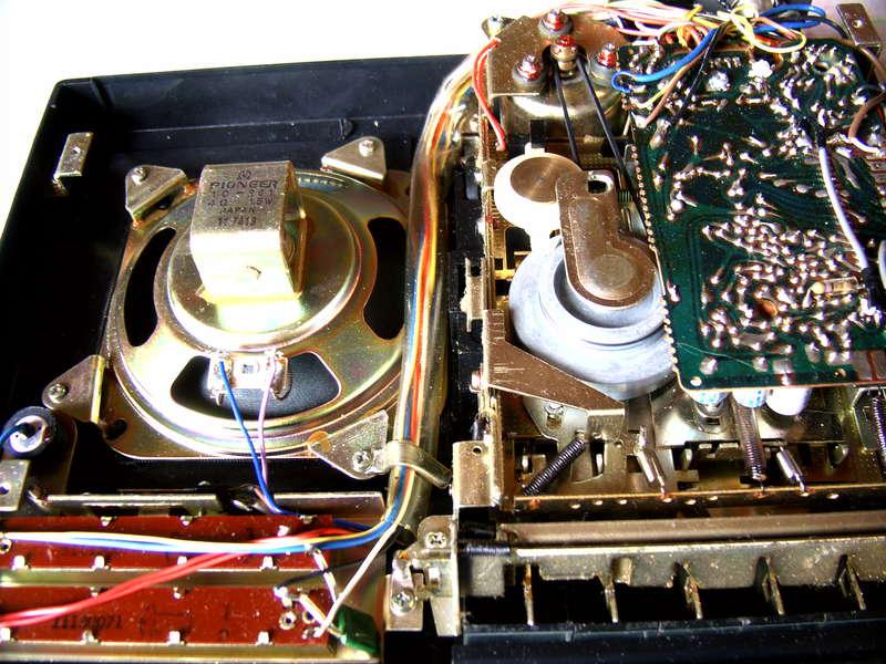 Ремонт кассетных магнитофонов своими руками