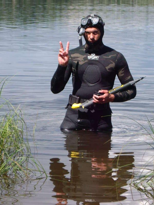 Подводные охотники есть?