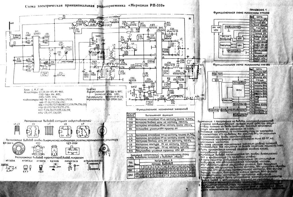 электрическая схема меридиан 235