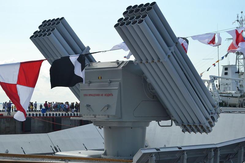 Малый ракетный корабль пр. 21631 и МАК пр.21630