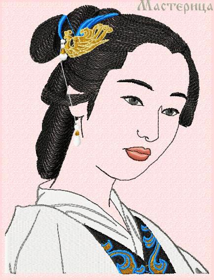 Девушка кореянка