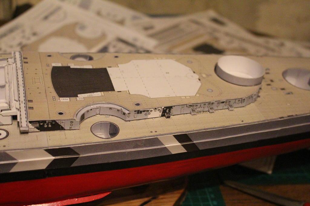 Просмотр темы - HMV Bismarck 1:250
