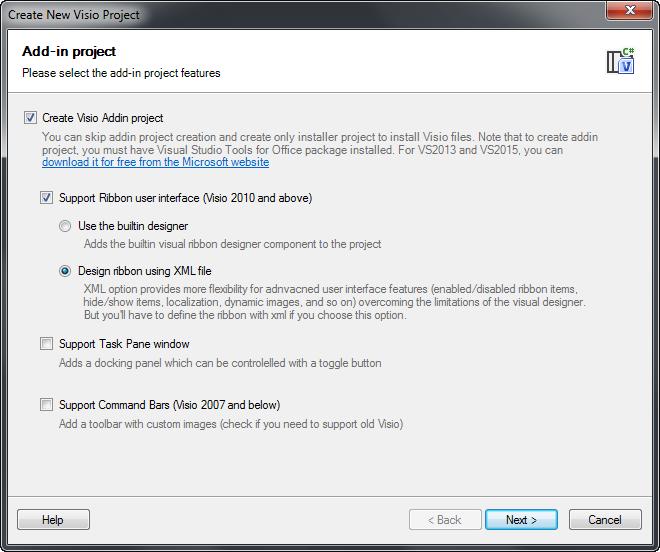 Шаблоны для создание плагинов для Visual Studio