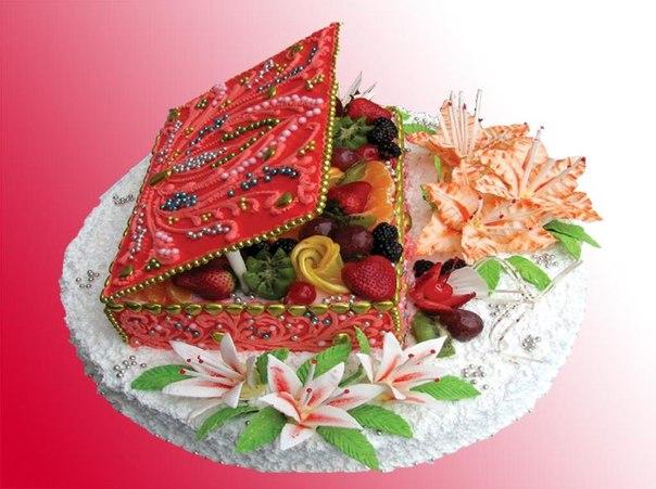 Поздравление с фруктами на юбилей