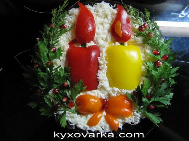 салатики на новый год с фото