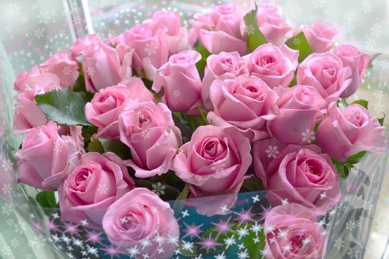 Поздравления красивой женщине красивые цветы в день