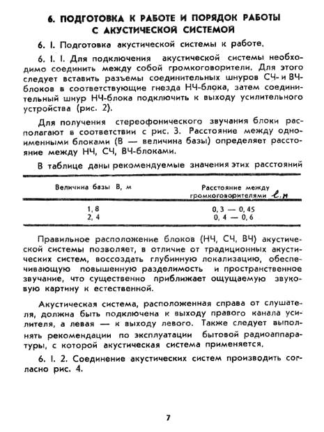 Акустическая система Электроника 25АС-132