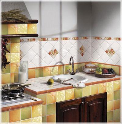 Дизайн кафеля для кухни