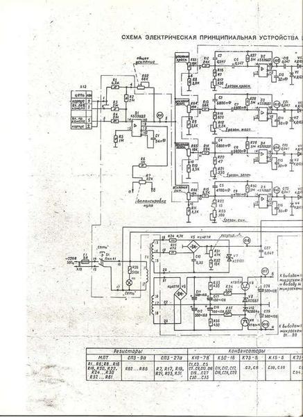 Схемы ЦМУ, а так же их доработки.