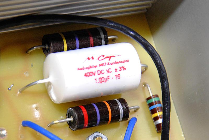 Ламповый фонокорректор SanderZ AXE-8388