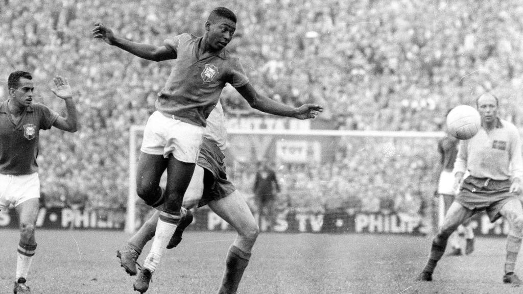Картинки футбол сборной бразилии 1958 год