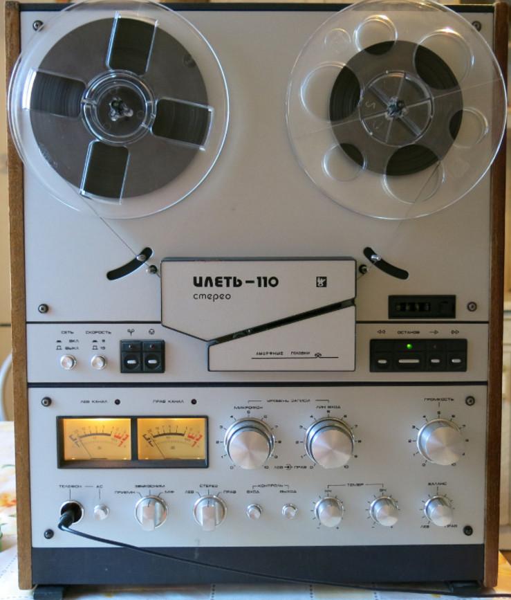 Дизайн отечественных магнитофонов.Фото.