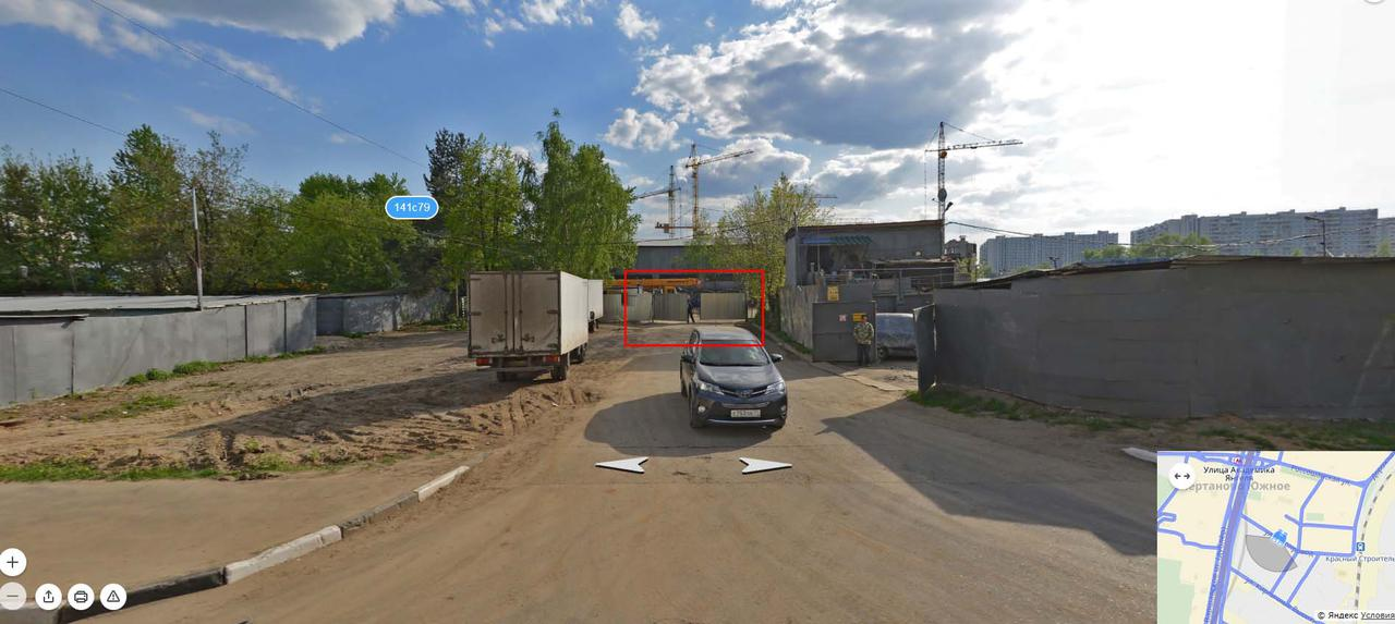 Дорога через Гаражи по ул. Газопровод