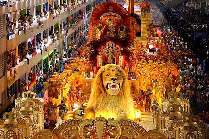 Рио де жанейро карнавал новый год