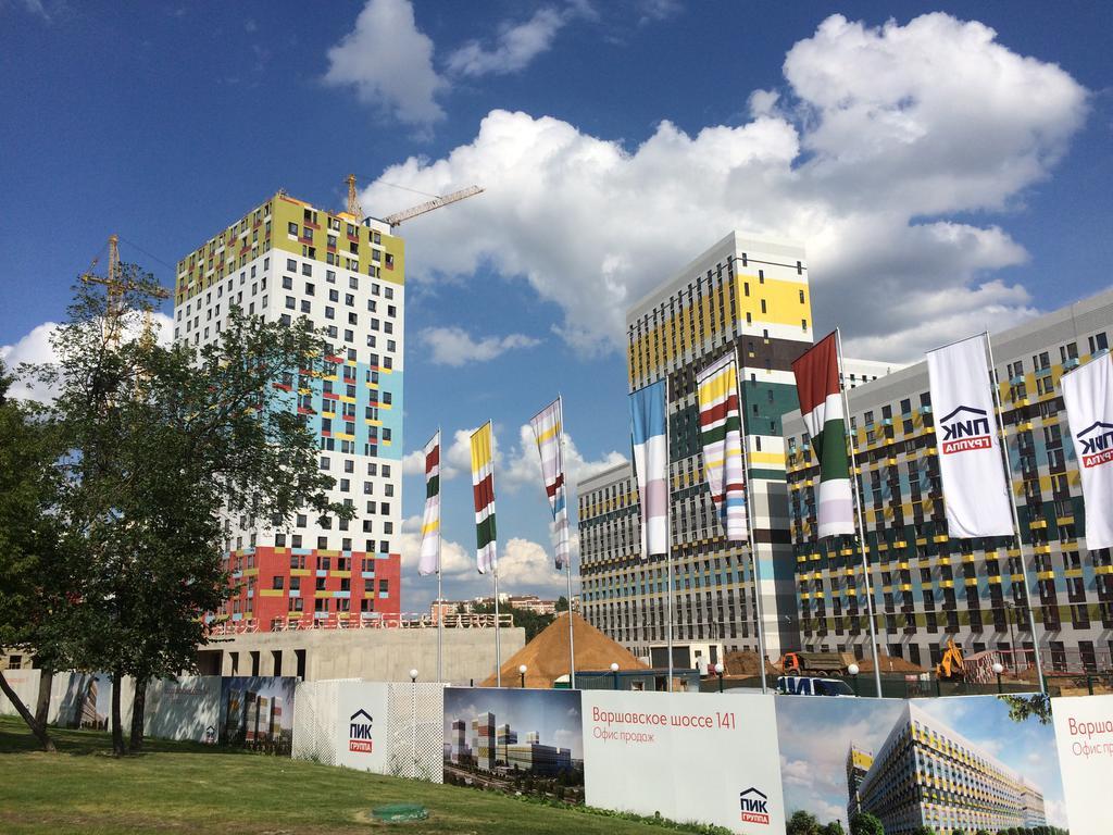 Фотографии ЖК Варшавское шоссе 141, июль 2016