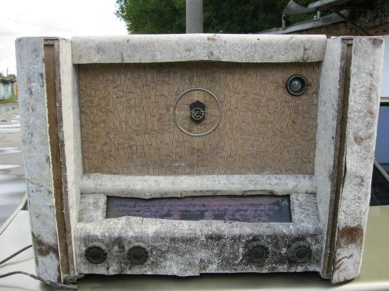 Радиоприёмник ламповый Латвия М 137