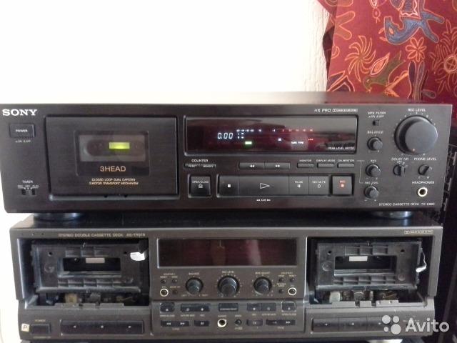 Кассетная дека Sony TC-K690
