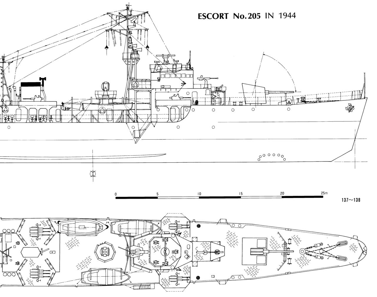 Охотник за подводными лодками типа Ch-28