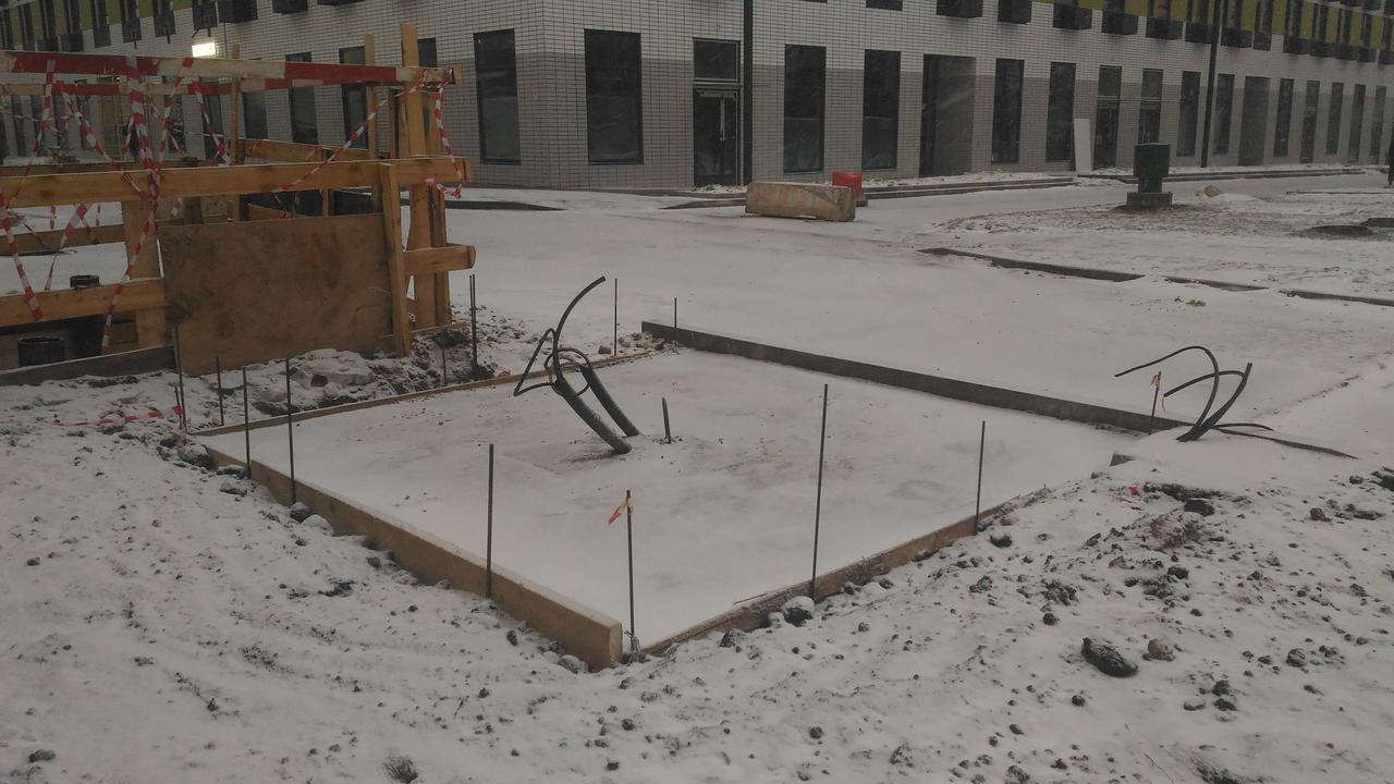 Фотографии ЖК Варшавское шоссе 141, ноябрь 2016