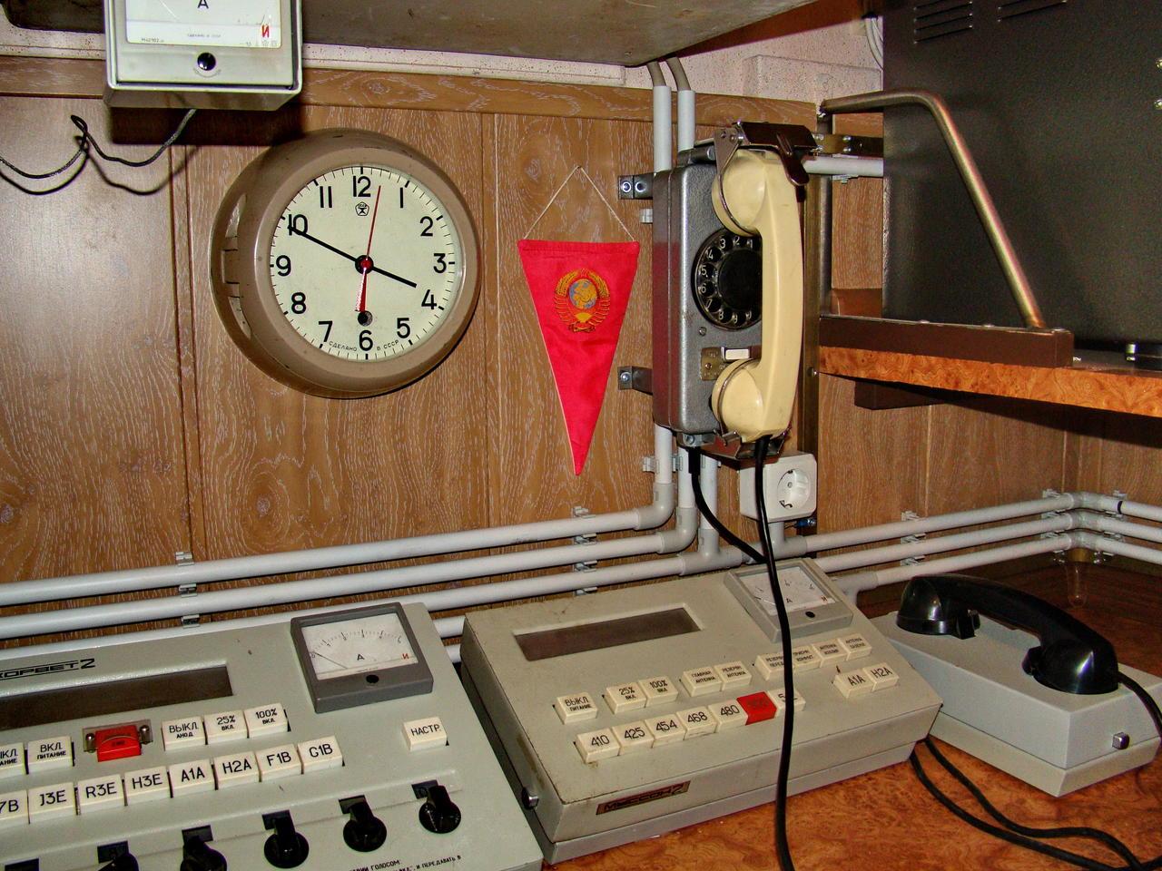 Экспозиции лаборатории истории электросвязи каф. РОС МТУСИ