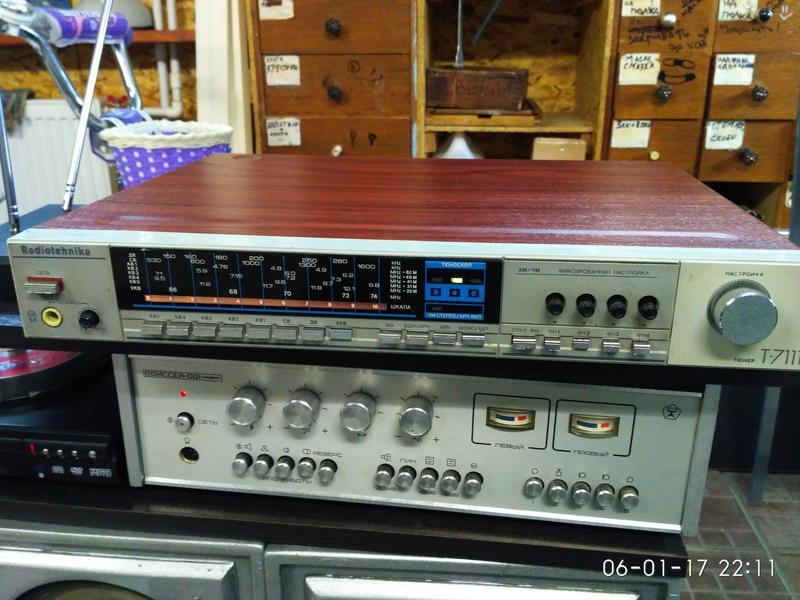 Тюнер радиотехника т-7111,вопрос