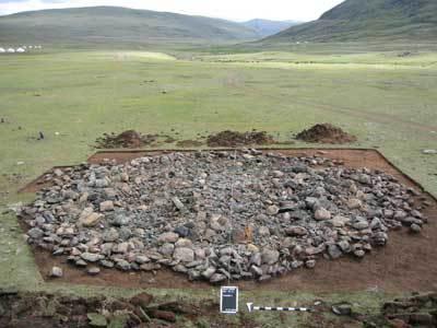 Мумия кочевника Монголия