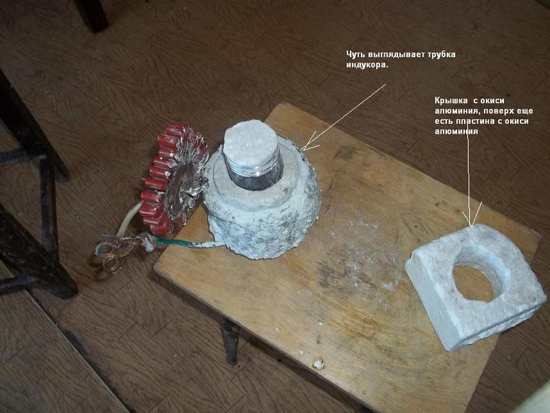 Мощность необходимая для плавления металлов, ( втч чугун)