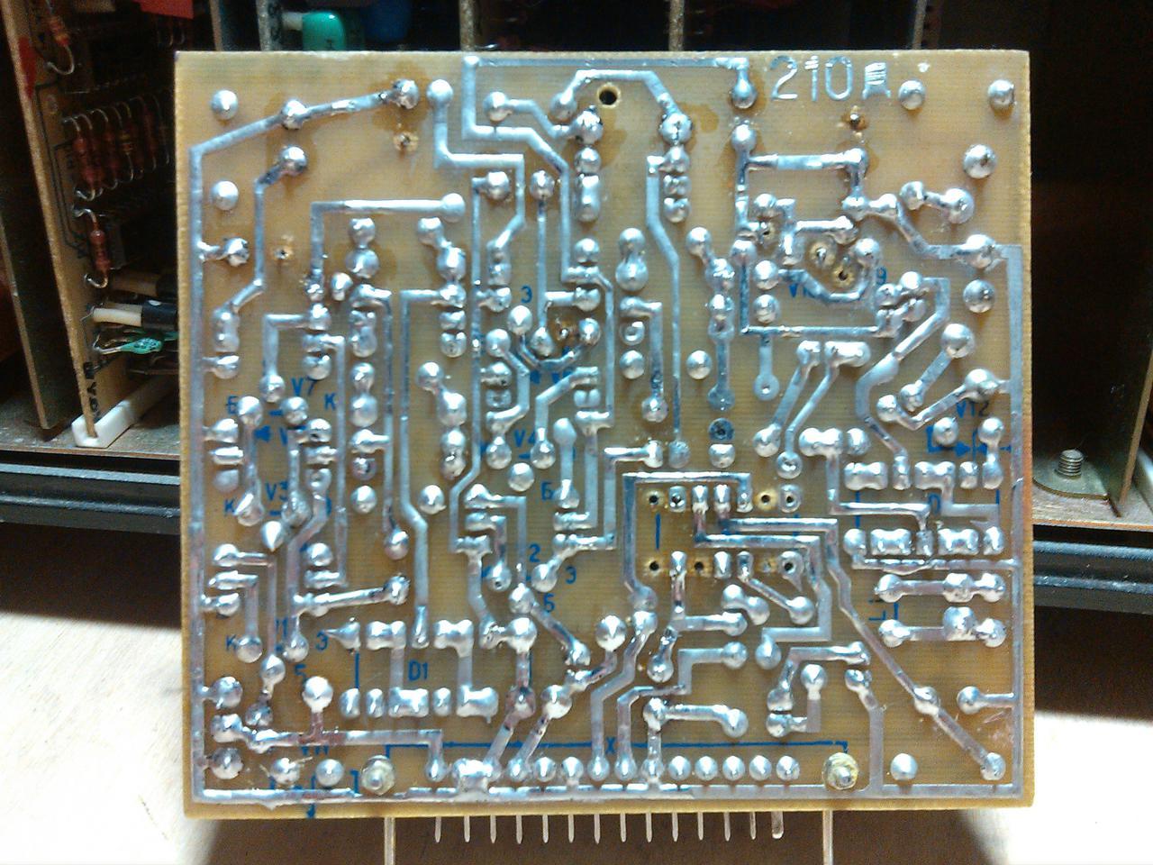 Ремонт катушечного магнитофона своими руками 138
