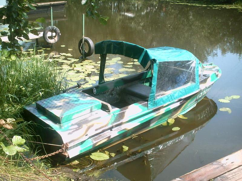 оборудуем лодки катера