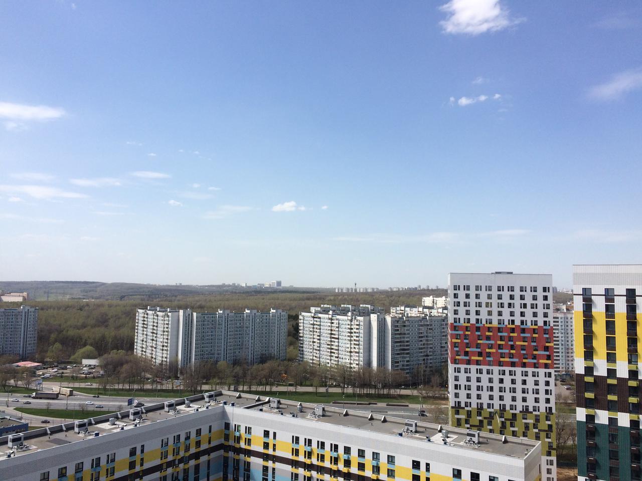 Фотографии ЖК Варшавское шоссе 141, май 2017