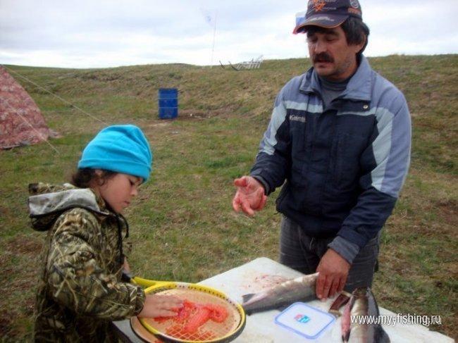 Рыбалка в Арктике