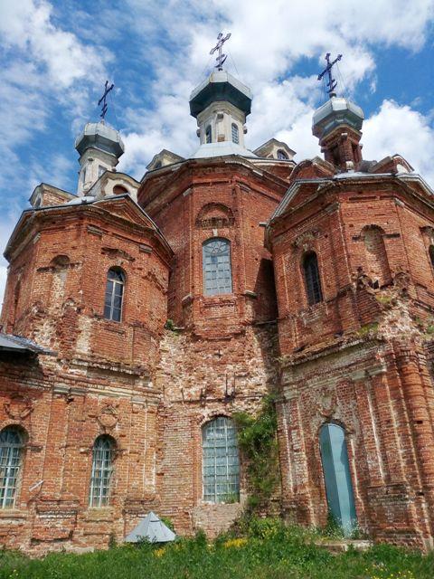 Храм Покрова Пресвятой Богородицы. Милославский район Рязанской области 149856176576688674