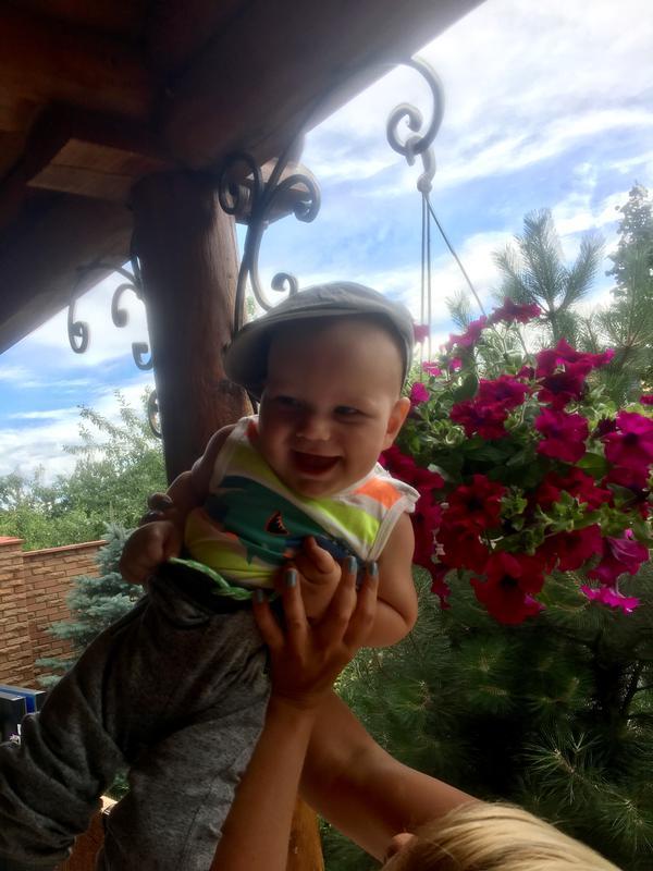 Катя. Лето в Марьяновке.