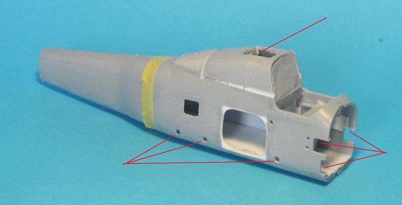 Sikorsky HSS-1F (SH-34H), 1:72, NOVO - конверсия
