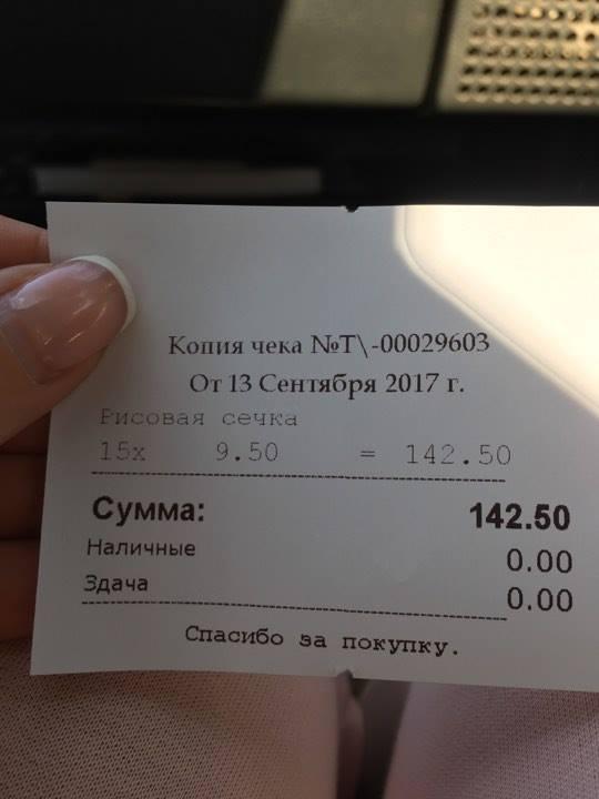 Отчет по питанию на передержке (Ольга)