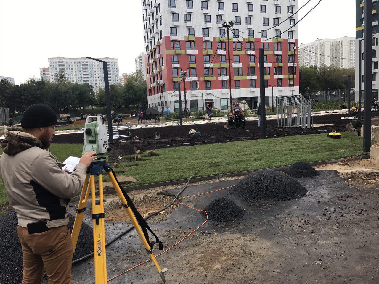 Фотографии ЖК Варшавское шоссе 141, сентябрь 2017