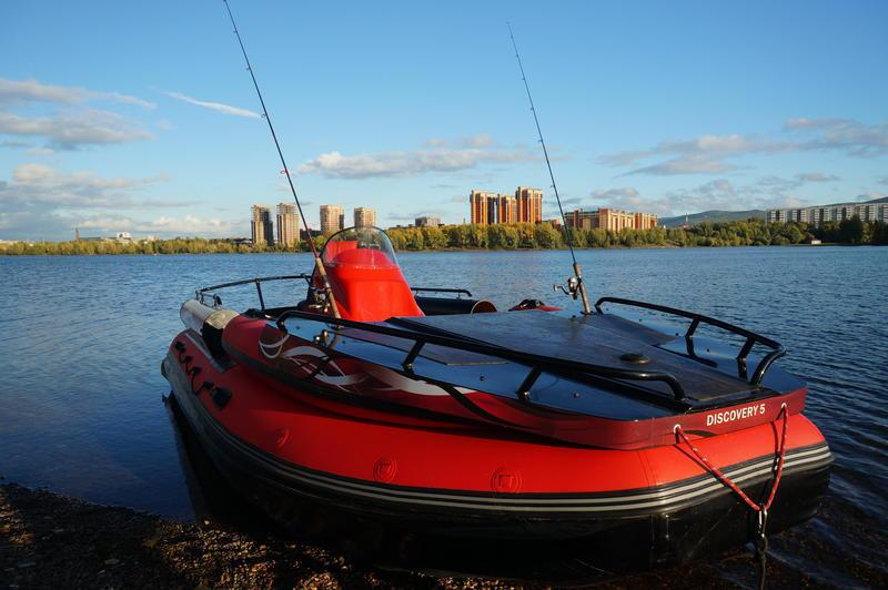 лодка водомет пхв