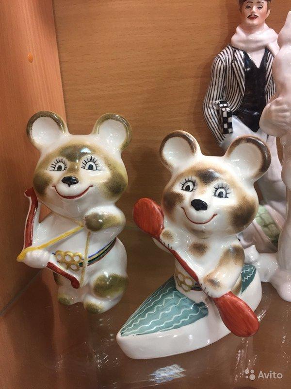 Советский фарфор: Олимпийские Мишки. Коллекция-каталог Сундука.