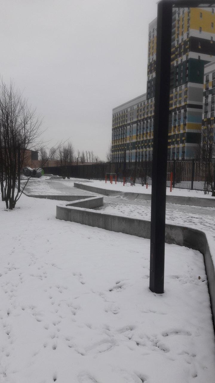 Фотографии ЖК Варшавское шоссе 141, декабрь 2017