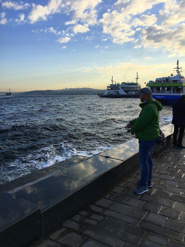 пулонга рыбалка на море