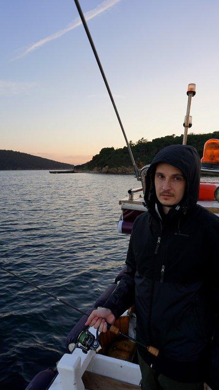 хорватия рыбалка в море