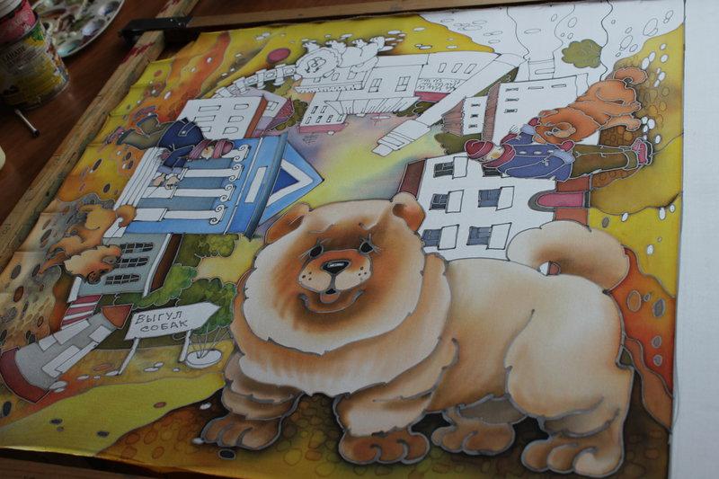 Просмотр темы - Рисую собак и других питомцев