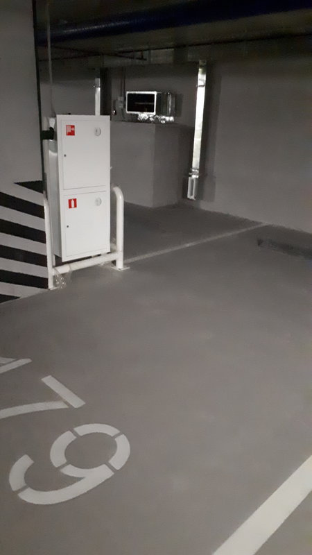 Проблема. Машиноместо. Пожарный ящик.