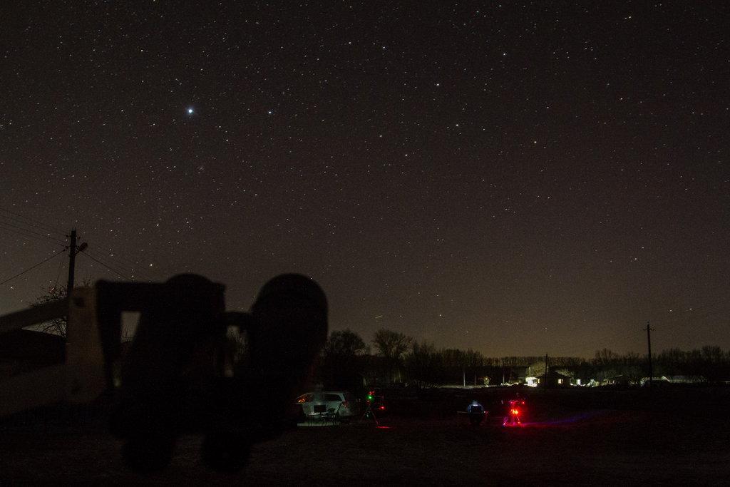 Совместные наблюдения «До последней звезды»