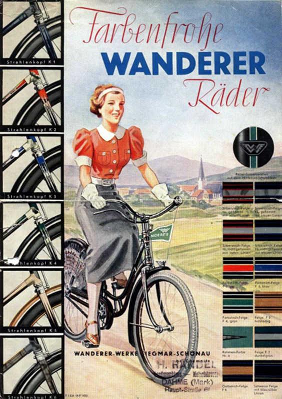 Немецкий велосипед фирмы WANDERER 151914230512007100