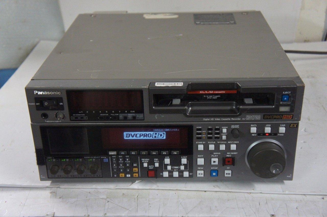 Видеомагнитофон DVCPRO HD Panasonic AJ-HD1700