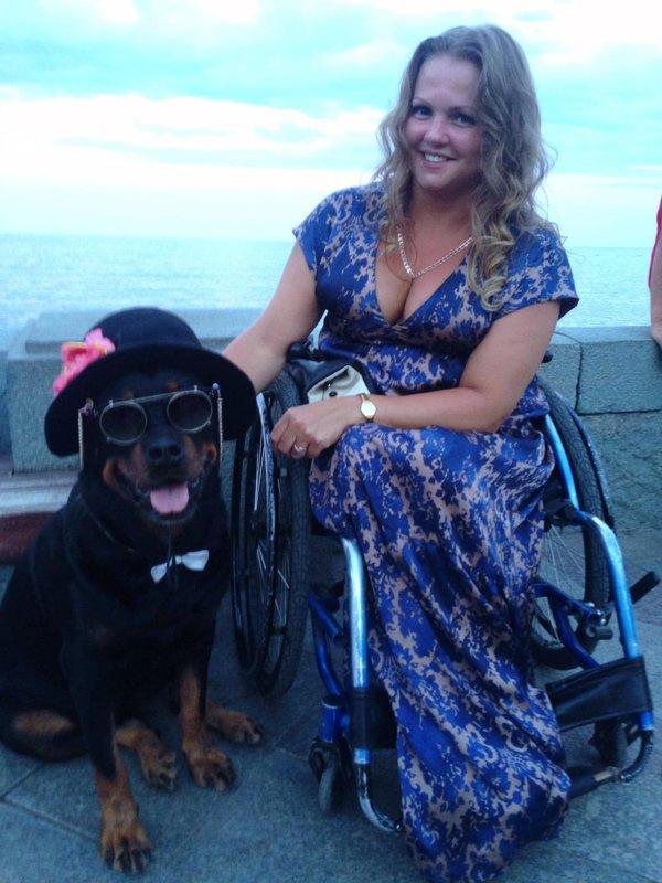 Devotee stories woman wheelchair Stories Archive