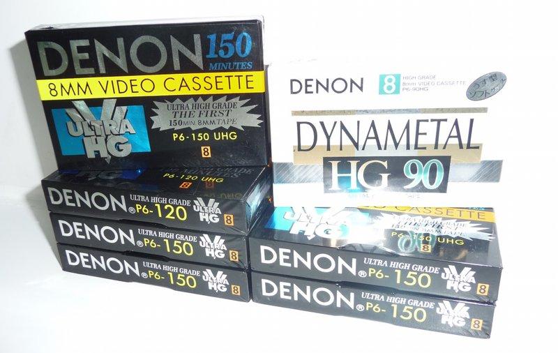 Видеокассеты для видеокамер 8мм и VHS-C