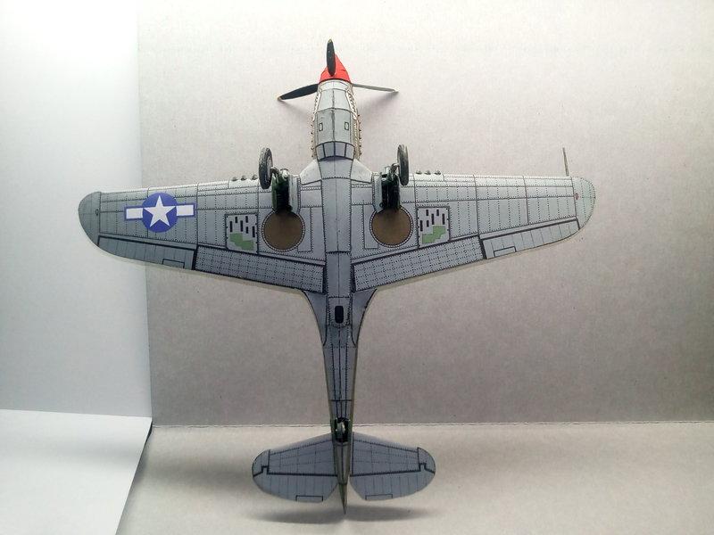 P-40N  примерно 1:48